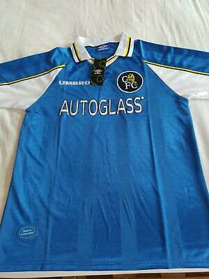 £50 • Buy Chelsea Football Club Retro Home Shirt 97/99 In Size Xl /l Brand New With Tags.