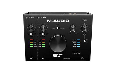 $149 • Buy M-Audio AIR 192|8 2-In/4-Out 24/192 Audio MIDI Interface! Refurbished By M-Audio