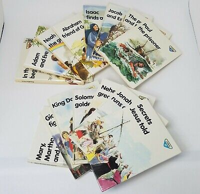 £24.84 • Buy Guideposts Childrens Bible Story Books Set Of 15 Books 1980s Lion Publishing HC