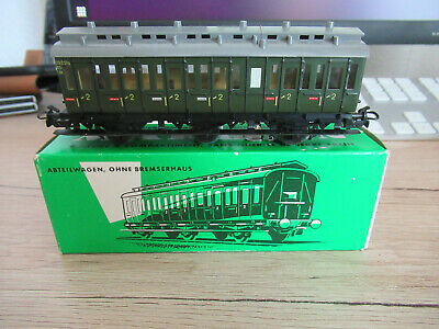 £20.23 • Buy Märklin 4004 Compartment Without Brakeman's Cab With Light Boxed Good Condition
