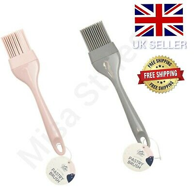£2.55 • Buy Silicone Pastry Brush Utensil Baking Bbq Basting Oil Pastry Bakeware Cooking