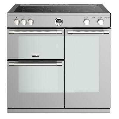 £1142.96 • Buy Refurbished Stoves Sterling Deluxe S900Ei Stainless Steel 90cm Electric Induc...