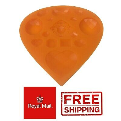 £2.99 • Buy Jewels Silicone Mould Cake Decoration Mold Baking Jewellery Diamonds Gems Brooch