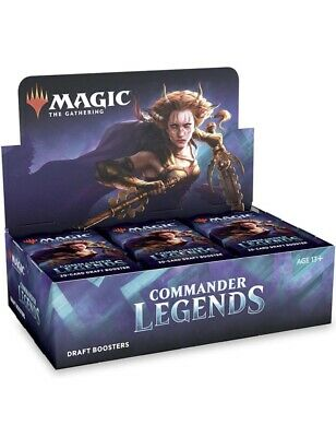 £110 • Buy MTG: Magic The Gathering Commander Legends Booster Box (24 Draft Booster Packs)