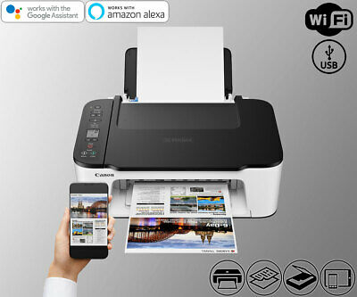 View Details Wireless All-In-One Printer Copier Scanner WiFi Alexa TS3522 (Ink Not Included) • 79.11$