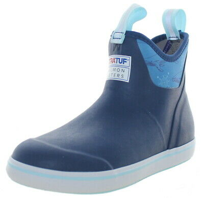 £42.47 • Buy Xtratuf Women's Salmon Sisters Ankle Deck Boots Blue/Whale Print