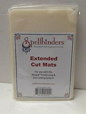 AU28.97 • Buy Spellbinders Machine With Extended Cut Mats W-022