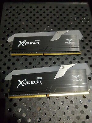 £113.31 • Buy Team Group T-force XCALIBUR DDR4 4000 4000Mhz 16GB (2x8GB) CL18 Kit
