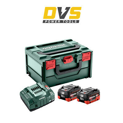£324.32 • Buy Metabo 685142000 Two 10Ah Batteries And ASC145 Charger Set With Carry Case