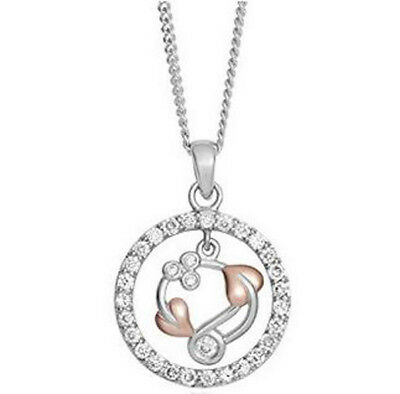 £1999.99 • Buy CLOGAU GOLD 18ct White & Rose Gold Tree Of Life Pendant BNIB *RARE & COLLECTABLE