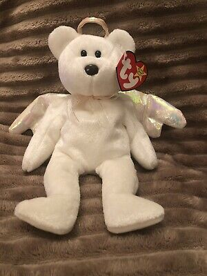 £500 • Buy Halo TY Beanie Baby - Rare Brown Nose With Tag