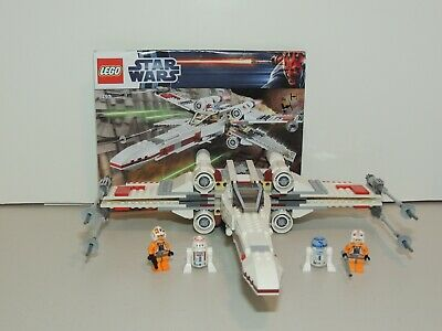 £54.32 • Buy    Lego 9493 Star Wars X-wing 100% Complete With Minifigures, Manual.