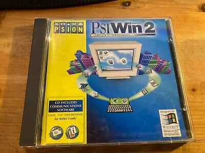 £6 • Buy Vintage 1998 PSI WIN 2.1 Software CD For Psion Series 5 VGC Full Retail Version