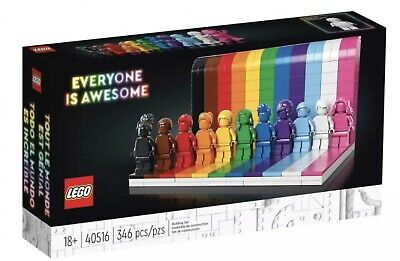 AU91.99 • Buy LEGO Exclusive - Everyone Is Awesome - 40516 - BNISB *same Day Shipping*