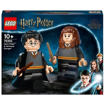AU199.99 • Buy LEGO 76393 Harry Potter Harry Potter And Hermione Granger Brand New Sealed