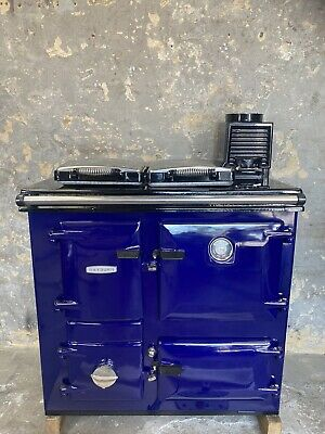 £1795 • Buy Aga Rayburn 200 SFW Solid Fuel Wood Burning 'cooker Only' Model Royal Blue