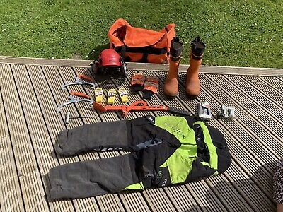 £50 • Buy Chainsaw Trousers Boots Bundle