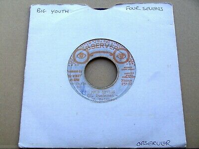 £9.95 • Buy Big Youth - Four Sevens OBSEVER'S 7  (listen)
