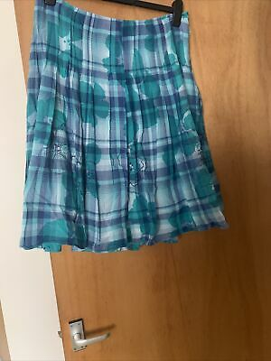 £2 • Buy Per Una Lined Cotton Skirt 14