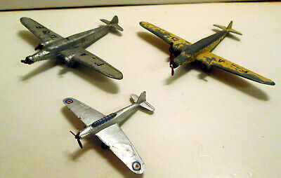 £36 • Buy French Dinky Toys, D338 Dewoitine X2 And 60n Fairey Battle,  Unboxed,   Original