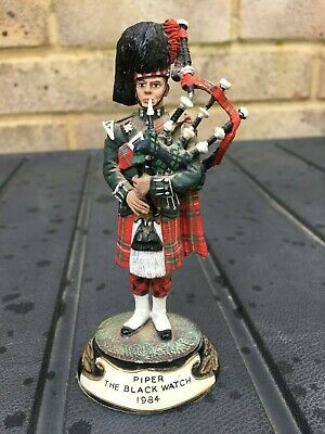 £29.95 • Buy Chas Stadden Pewter Military Figure Piper The Black Watch 1984