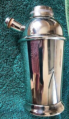 £21 • Buy Vintage Silver Plated EPNS Cocktail Shaker By Plato