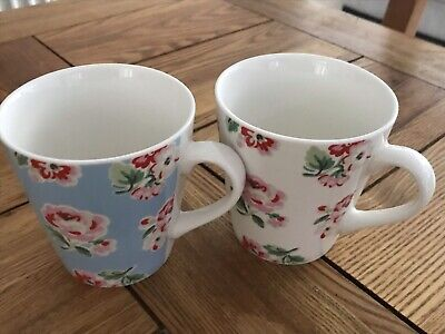 £9.99 • Buy Cath Kidston Mug Set Of 2 Floral Pattern.  Not In Box But Never Used