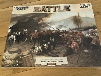 £5 • Buy New And Sealed 1000 Piece Jigsaw Puzzle Of 'Rorke's Drift' From The Works