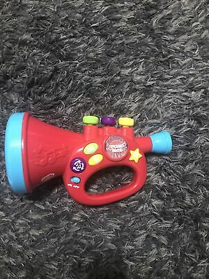 £3 • Buy Chad Valley My First Trumpet Musical Music Lights Red Blue Baby Toy Instruments