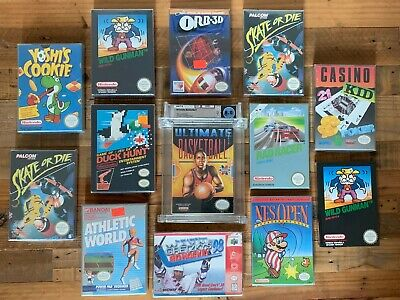 £2499.99 • Buy COLLECTION OF FACTORY SEALED NINTENDO NES GAMES! (Wata, New, Mint, Unopened)
