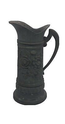 £11 • Buy Vintage Antique Pewter Mini Jug Pitcher Collectible Intricate Design