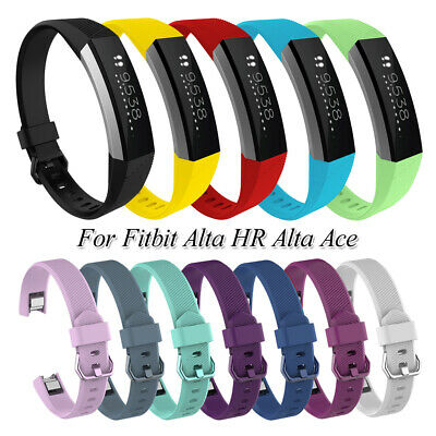 AU2.93 • Buy Watch Band Silicone Wrist Strap Soft Replacement Bands For Fitbit Alta HR Ace