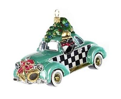 $145 • Buy MacKenzie-Childs Glass Ornament - COUPE