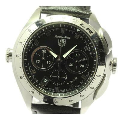 £1601.73 • Buy TAG Heuer SLR Mercedes-Benz Chronograph CAG2110 Automatic SS Men's Watch [b0607]