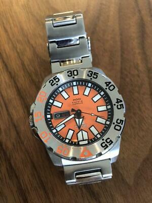 $ CDN903.79 • Buy Seiko 5 Sports Day Date Orange Monster Automatic Mens Watch Authentic Working