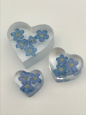 £4 • Buy SECONDS Forget Me Not Pocket Hugs, 'thinking Of You ' Gift