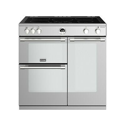 £1454.96 • Buy Stoves Sterling S900Ei Stainless Steel 90cm Electric Induction Range Cooker
