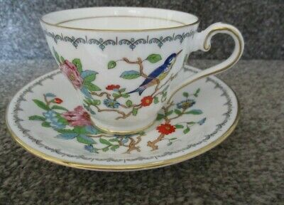 £9.99 • Buy Aynsley Pembroke Fine Bone China Tea Cup And Saucer