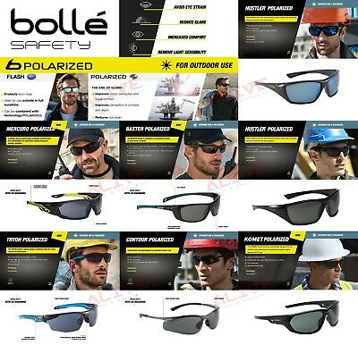 £7.19 • Buy Bolle Polarized Safety Glasses Sporty Spectacles UV Protection Anti-glare Lens