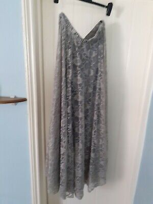 £1.99 • Buy Lovely Long Grey Net Skirt Xl. Used But In A Good Condition.