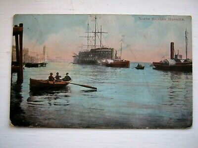 £2 • Buy Nice Vintage Postcard - North Shields Harbour,posted 1908