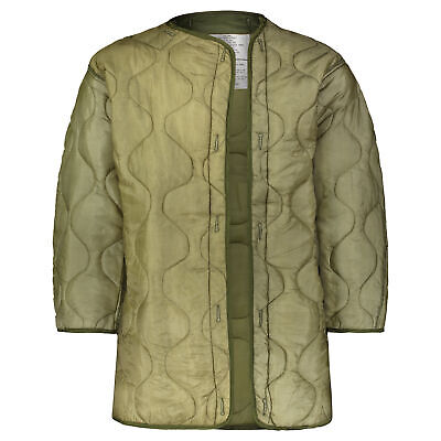 $37.99 • Buy GI Polyester Fishtail Parka Liner, M65 Parka Compatible, OD Green Made In USA