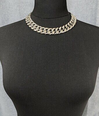 £65 • Buy Lovely Vintage Silvertone Three-dimensional Design Necklace By Trifari Jewellery