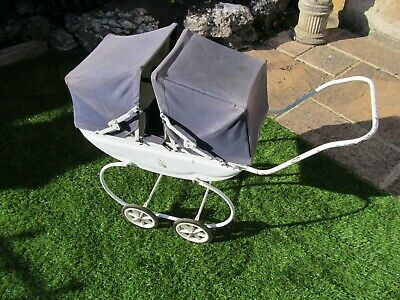£12 • Buy Triang Vintage Twin Dolls Pram In Used Condition