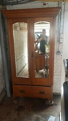 £300 • Buy Art Nouveau/ Edwardian Dressing Table With Triple Mirrors And Wardrobe Set