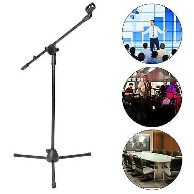 £9.99 • Buy Adjustable Microphone Stand Boom Arm Holder & Mic Clip Stage Studio Party Tripod
