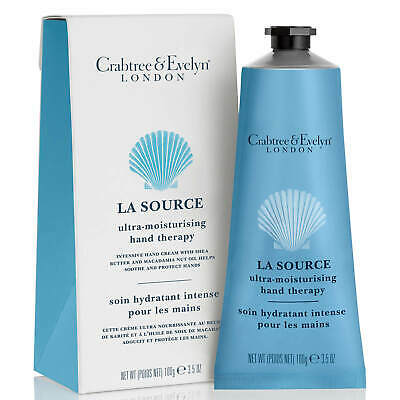£16.95 • Buy Crabtree & Evelyn La Source Ultra-moisturising Hand Cream Therapy 100g New Boxed