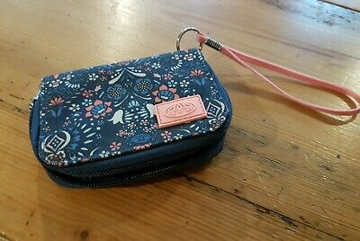 £5.80 • Buy Animal Purse/Wallet Zipped With ID Space, Navy Print