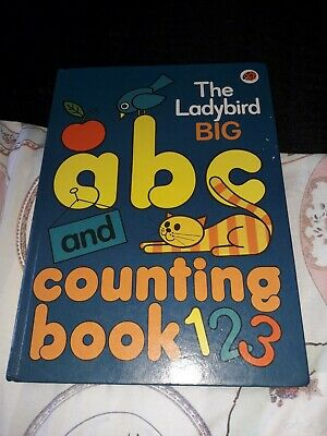 £2 • Buy Vintage The Ladybird BIG Abc And Counting Book 1979