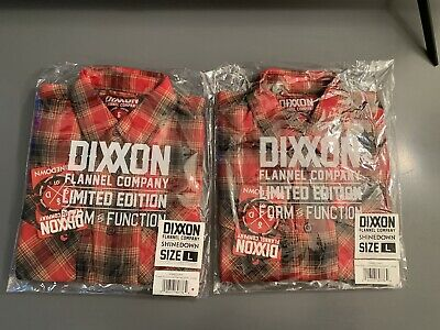 """$70 • Buy Dixxon Flannel """"Shinedown"""" Size Large *Sold Out*"""